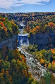 letchworth state park falls